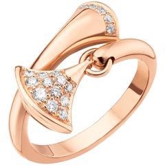 Bulgari Rose Gold Diva's Dream Ring