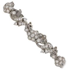 Tiffany & Co. Diamond Bracelet American, circa 1940