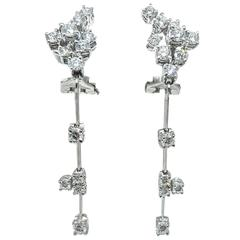 Stefan Hafner Detachable Diamond Dangle Earrings