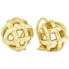 Angela Cummings 18 Karat Yellow Gold Earrings