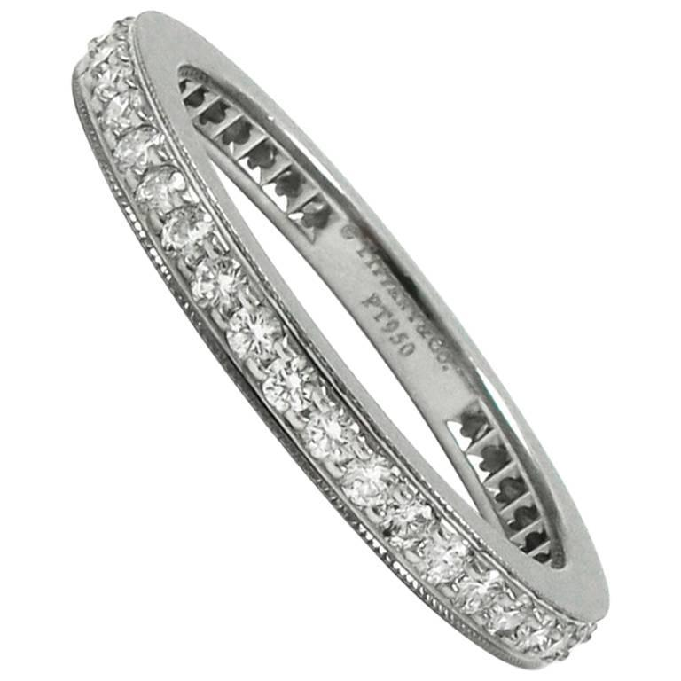 Tiffany & Co. Legacy Diamond and Platinum Eternity Band