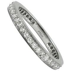 Tiffany & Co. Legacy Diamond and Platinum Eternity Band