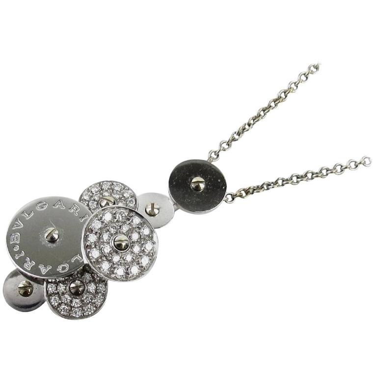 Bulgari Cicladi Diamond Gold Necklace