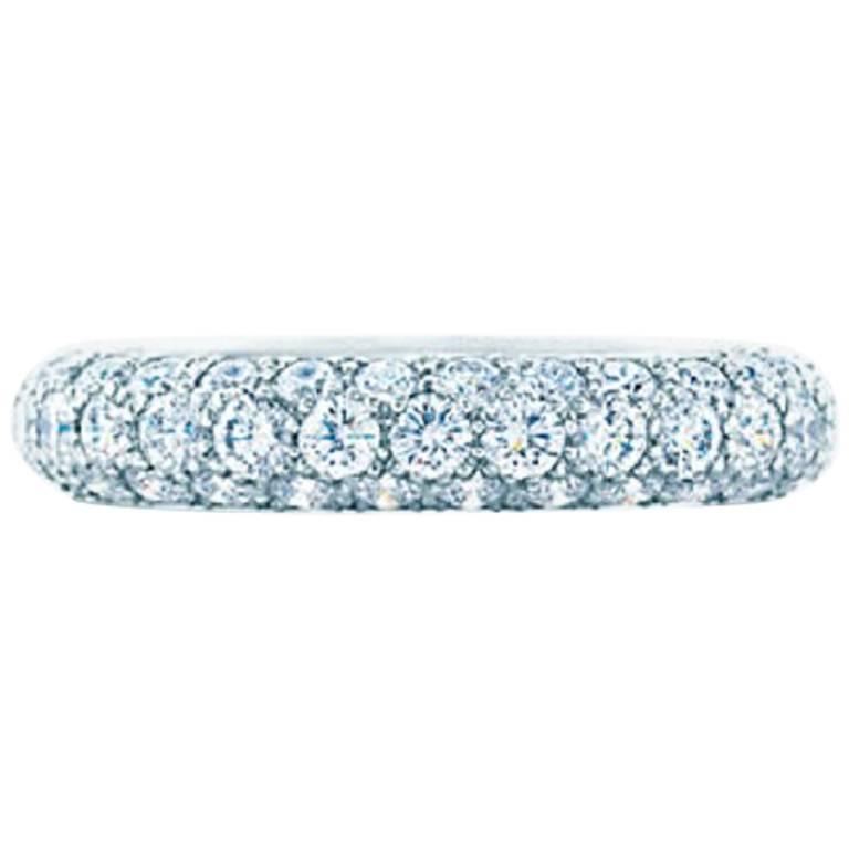 Tiffany & Co. Etoile Three-Row Band Ring