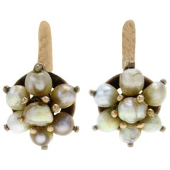 Luise Pearl Flower Earrings