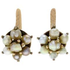Luise Pealr Flower Earrings