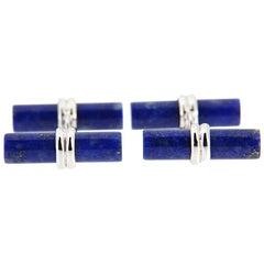 Jona Lapis Lazuli Sterling Silver Cufflinks