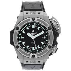Hublot Titanium Musee Oceanographique Monaco Automatic Wristwatch