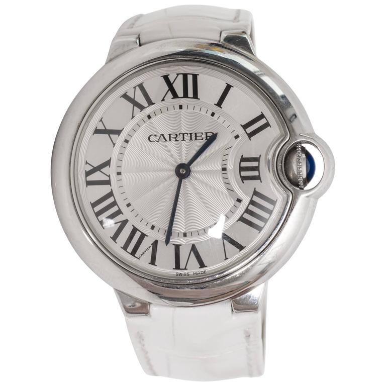 Cartier Stainless Steel Ballon Bleu Wristwatch