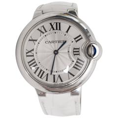 Cartier Stainless Steel Ballon Bleu Wristwatch