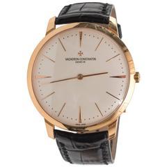 Vacheron Constantin Geneve Rose Gold Manual Wristwatch