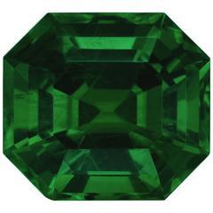 Ultra Fine Gubelin Certified 5.21 Carat Colombian Emerald