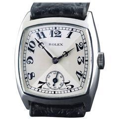 Rolex Sterling Silver Wristwatch, 1930