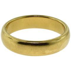 Tiffany & Co. Tiffany Classic Yellow Gold Wedding Band Ring