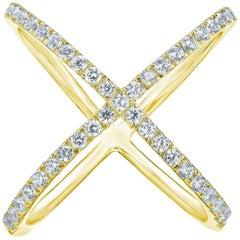 Fancy Diamond Gold Ring