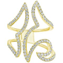 1.10 Carat Fashion Diamond Gold Ring