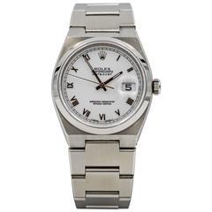 Rolex Stainless Steel Datejust Oyster Quartz Wristwatch