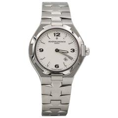 Vacheron Constantin Ladies Stainless Steel Overseas Quartz Wristwatch