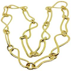 Carlo Weingrill Long Yellow Gold Chain