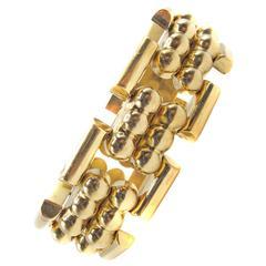 French Retro Gold 1940s Bracelet