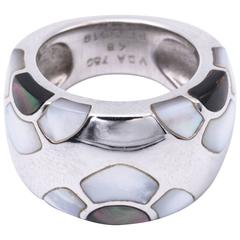 Van Cleef & Arpels Mother-of-Pearl White Gold Ring