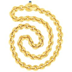 Gubelin Yellow Gold Link Necklace