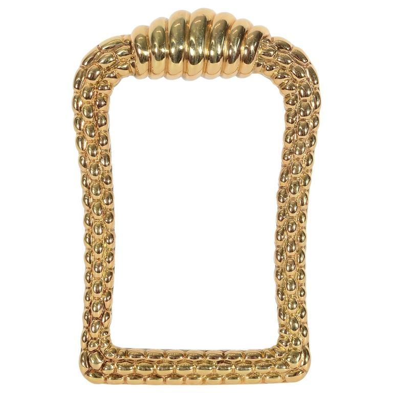Fope Gioielli Elegant Gold Picture Frame For Sale