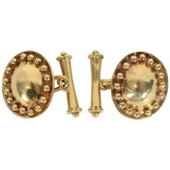 Helen Woodhull Gold Cufflinks
