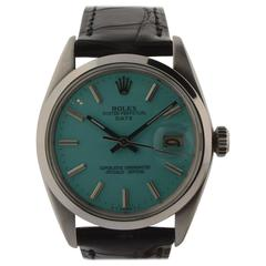 Rolex Stainless Steel Oyster Perpetual Date Wristwatch