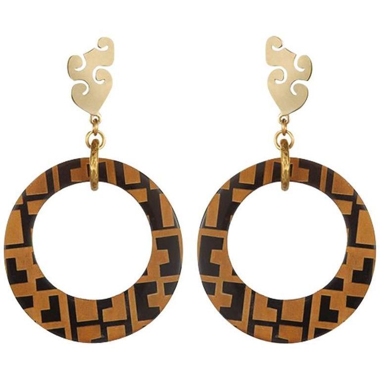 Fouche Horn Africa Earrings