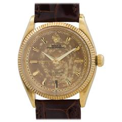Rolex Yellow Gold Oyster Perpetual Model 6569, circa 1956