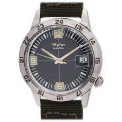 Wyler Incaflex Diver's GMT, circa 1960s