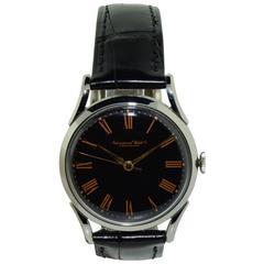 International Watch Co. Stainless Steel Men's Art Deco Style Wristwatch