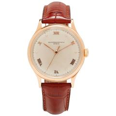 Vacheron Constantin Rose Gold Calatrava Mechanical Wristwatch
