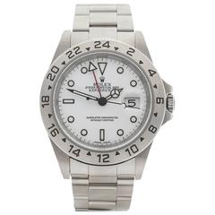 Rolex Stainless Steel Explorer II Polar Automatic Wristwatch Model 16570, 1999