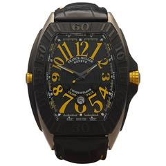 Franck Muller Titanium Conquistador Grand Prix Automatic Wristwatch