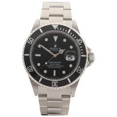 Rolex Submariner Stainless Steel Gents 16610