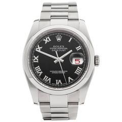 Rolex Datejust Stainless Steel Unisex 116200, 2006