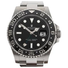 Rolex GMT-Master II Stainless Steel Gents 116710LN, 2010