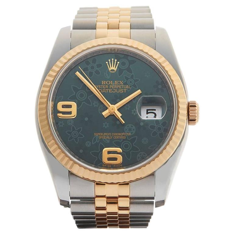 Rolex Datejust Stainless Steel/18 Karat Yellow Gold Unisex 116233