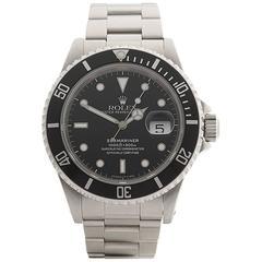 Rolex Submariner Stainless Steel Gents 16610, 1990
