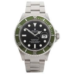 Rolex Submariner Kermit Stainless Steel Gents 16610LV, 2010
