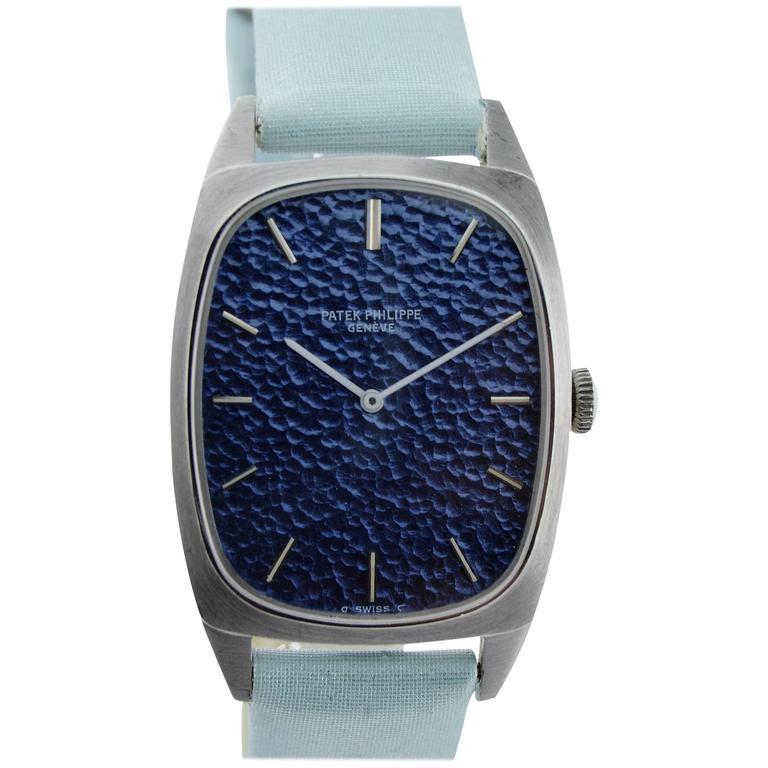 Patek Philippe White Gold Dress Style Watch