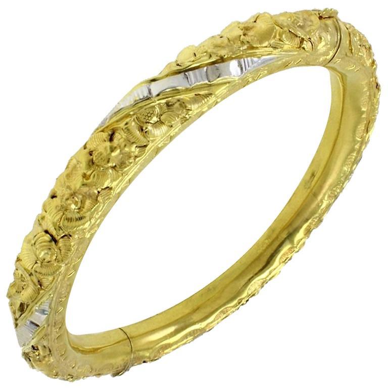 Luise Gold Clamper Bracelet