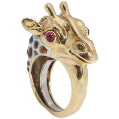 David Webb Giraffe Ring