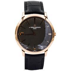 Vacheron Constantin Patrimony Rose Gold Manual Wristwatch