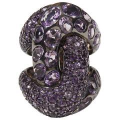 Amethyst Knot Ring