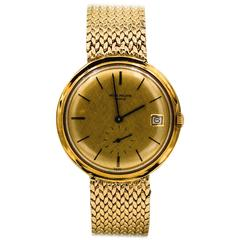 Patek Philippe Yellow Gold Automatic Dress Wristwatch