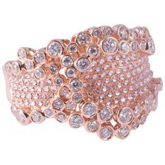 Fabulous Diamond Rose Gold Ring
