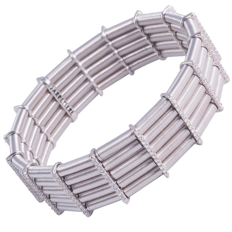 Jarretiere Diamond White Gold Bracelet